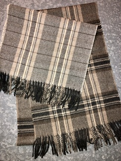 Scarf- Plaid Alpaca Scarves