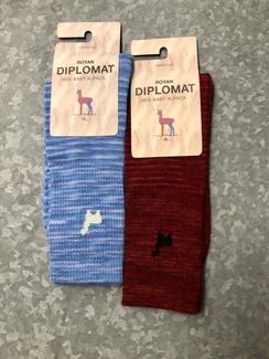Photo of Socks- Alpaca Diplomat Socks- Medium