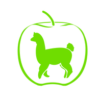 Green Apple Alpacas - Logo