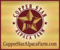 Copper Star Alpaca - Logo