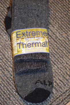 Alpaca Socks - Extreme Thermal