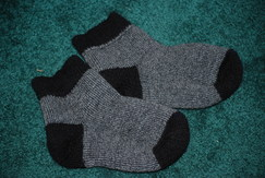 Alpaca Socks - Slipper Booties