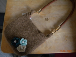 Photo of Felted Alpaca Bag