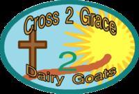 Cross2Grace Dairy Goats and GoatGoat Dairy Goats - Logo