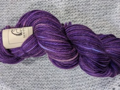 Photo of Worsted 100% Baby Alpaca - Royal Purple