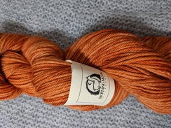 Photo of Worsted 100% Baby Alpaca - Orange