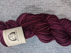 Photo of Worsted 100% Baby Alpaca - Cabernet