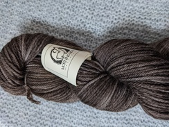 Photo of Worsted 100% Baby Alpaca - Pecan Brown