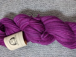 Photo of Worsted 100% Baby Alpaca - Berry Crush