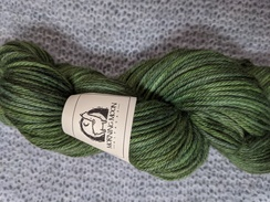 Photo of Worsted 100% Baby Alpaca - Moss Green