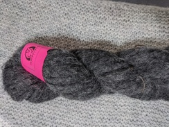 Lace Alpaca Yarn BRUSHED - Dark Grey