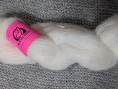Lace Alpaca Yarn BRUSHED - Natural White