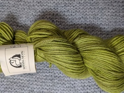 Photo of Worsted 100% Baby Alpaca - Chartreuse