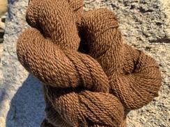 100% Alpaca Natural Brown 2 Ply Yarn