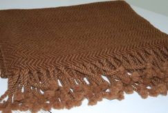 Alpaca Woven Throw