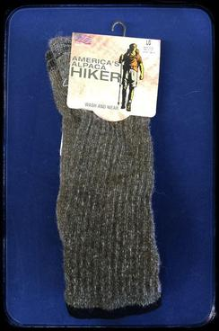 Photo of AFCNA America's Alpaca Hiker Socks