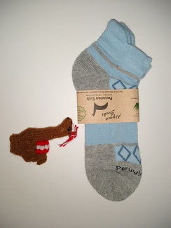 Footie Sock and Free Alpaca puppet
