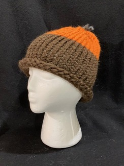 Photo of Knitted Alpaca 2-Tone Hat