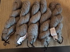 2 Ply Worsted Yarn - H&S Gray