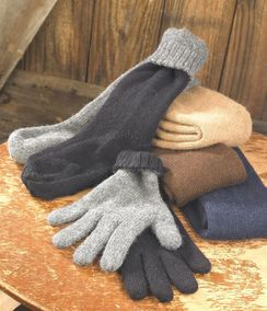 Photo of Reversible Alpaca Gloves