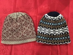 Photo of HAT-ALPACA REVERSIBLE KNIT HAT