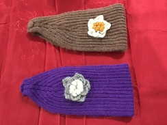 Photo of HEAD BAND-ALPACA KNIT