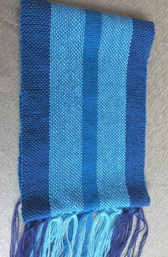 Photo of Bayou Blue Scarf