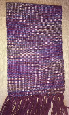 Oregon Sugar Plum Scarf