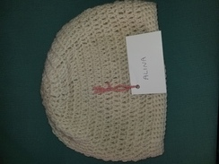 Photo of hand made 100% alpaca hat