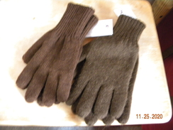 Brown Reversible Gloves