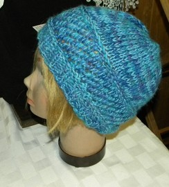Photo of Multi Colored Alpaca Hat
