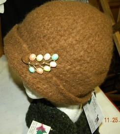 Photo of Brown  Felted Alpaca Hat