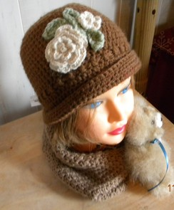 Photo of Alpaca Cloche Hat
