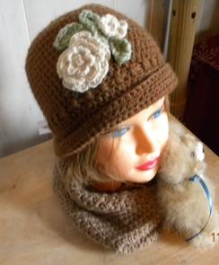 Alpaca Cloche Hat