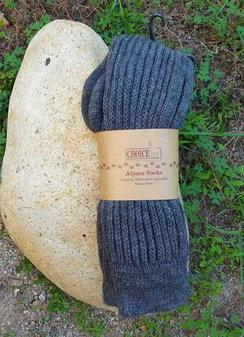 Alpaca Kneehigh Socks