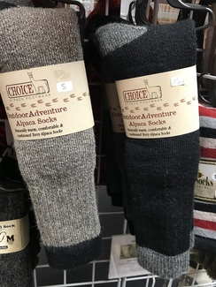 Alpaca Outdoor Adventure Socks