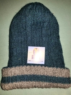 Photo of Reversible double knit hat