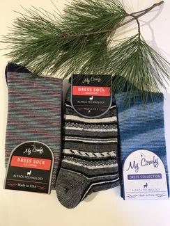 Photo of Alpaca Stripe Sock