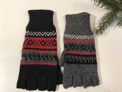 Photo of Geometric Fingerless Gloves