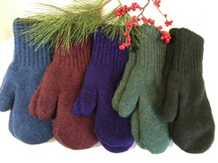 """Photo of """"Bold"""" Boucle Lined Mittens"""