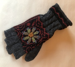 Smokey Mountain Fingerless Gloves