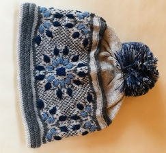 Photo of Snow Leopard Alpaca Hat