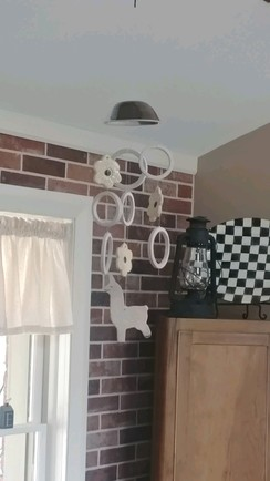 Ceramic Alpaca Windchimes