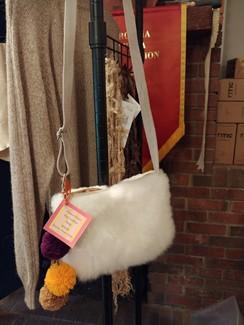 Fuzzy Alpaca Handbag
