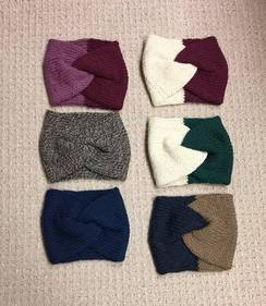 100% Alpaca Turban Ear Warmers