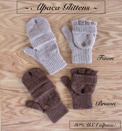 Photo of GLITTENS: GLOVE/MITTEN 80% alpaca