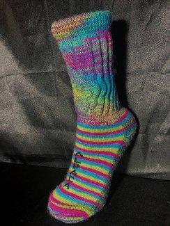 Therapeutic Socks ~ Striped