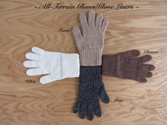 Photo of GLOVE LINER: GLOVE/MITTEN 80% alpaca