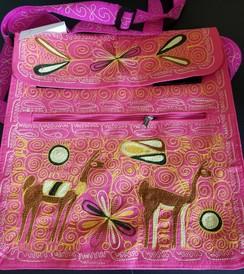 Shoulder Purse - Embroidered
