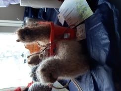 Alpaca fur ornaments